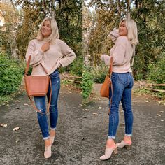 Bre Sheppard Old Navy Denim Refresh - Fall Style Bre Sheppard Old Navy Denim Refresh - Fall Style Mom Outfits, Everyday Outfits, Trendy Outfits, Cute Outfits, Casual Office Attire, Fall Capsule Wardrobe, Winter Wardrobe, Fashion Idol, Sweaters And Jeans