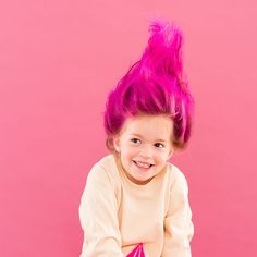 11 DIY Halloween Hairstyles for You and Your Kiddos