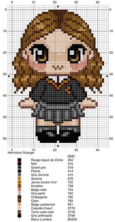 Hermione Granger - Harry Potter pattern