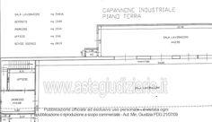 Planimetria n° 1 - Pianta piano terra Terra, Desktop, Floor Plans, Diagram