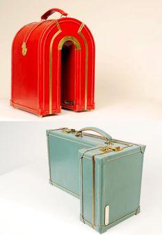 suitcases from Williams British Handmade