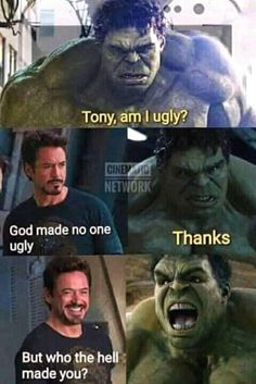 Marvel is at the top of ladder when it comes to movies. Out of these amazing movies of marvel, we can make as many memes as we want to because memes will be perfect at topics which are famous worldwide. Here are 22 Marvel memes clean. Avengers Humor, Marvel Jokes, Funny Marvel Memes, Dc Memes, Hulk Memes, Find Memes, Funny Comics, Funny Disney Memes, Crazy Funny Memes