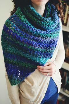 Dragonfly Shawl - beautiful crochet shawl