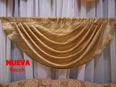 En este video estaremos enseñando como colocar la tela y como cortar las piezas, en él siguiente video les enseñaremos paso a paso como coserla esperó les al... Scarf Curtains, Porch Curtains, Window Drapes, Valance Curtains, Luxury Curtains, Elegant Curtains, Curtain Patterns, Curtain Designs, Swags And Tails