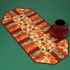 Leaves of Autumn Table Runner Kit (includes all fabrics, batting, backing and pattern) $19.99 on Nancy's Notions at http://www.nancysnotions.com/product/leaves+of+autumn+table+runner+kit.do