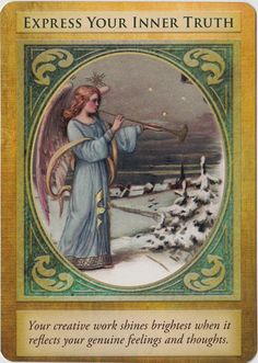All About Paranormal: Archangel Gabriel Oracle Cards Review #doreenvirtue…