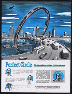 #WorldFair #perfect #circle #car #poster