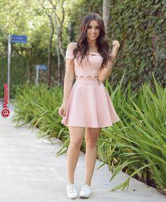 A-Line Dress, Light Pink Dresses,Off Shoulder Homecoming Dresses, Satin Short Dresses from PeachGirlDress,homecoming - Moda Hoco Dresses, Pretty Dresses, Casual Dresses, Fashion Dresses, Pink Dress Casual, Elegant Dresses, Light Pink Dresses, Light Pink Homecoming Dresses, Sexy Dresses