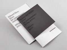 ccrz - Gallotti&Radice - Salone del Mobile brochure #CCRZ #binding
