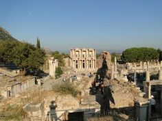 Ephesus, Turkey - Ruins allow you to feel like you have been transported back in time.
