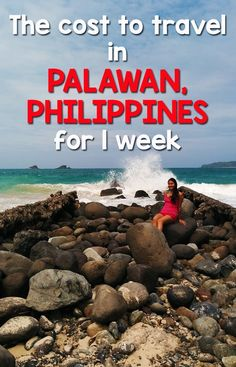 How much it cost for two people to travel in Palawan for 1 week including Puerto Princesa and El Nido. Find out how much we spent for food, hotels, transportation, tours and Philippines Travel Guide, Philippines Beaches, Philippines Palawan, Costa Rica Travel, Asia Travel, El Nido Palawan, Palawan Island, Places To Travel, Travel Destinations