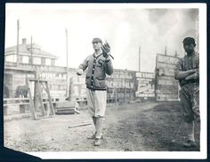 """""""Who's that? It's none other than Shoeless Joe Jackson, playing for Savannah in 1908."""" (h/t UniWatch)"""