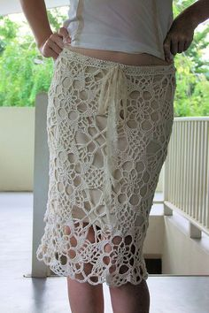 Exploded Lace Skirt - Front by Shola'K', via Flickr