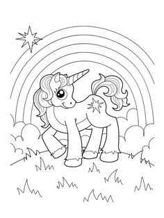 Little Unicorn by Annzabella Coloring book. Little unicorn from fairy tale about the princess Unicorn Coloring Pages, Animal Coloring Pages, Colouring Pages, Adult Coloring Pages, Coloring Sheets, Coloring Books, Unicorn Images, Unicorn Printables, Little Unicorn