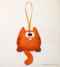 Orange Striped Kitty Snickers