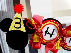 Clubhouse  Mickey Mouse Printable Party Birthday DIY by OpalandMae, $15.00
