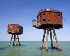 thames sea forts: war machines to eco warriors
