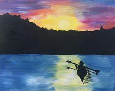 Sunset Kayak #livecreatively