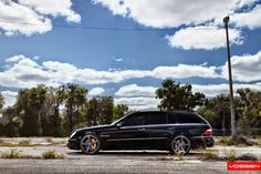 Sickest Mercedes AMG Wagon on Vossen - - Porsche Forum and Luxury Car Resource Mercedes E55 Amg, Mercedes Car, Vossen Wheels, Car Wheels, Merc Benz, Large Photos, Station Wagon, Luxury Cars, Cool Cars