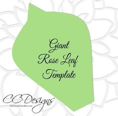 Paper flower printable PDF templates. PLEASE READ FULL DESCRIPTION. THANK YOU. This listing includes: THIS IS FOR PDF PRINTABLES ONLY. ♥ 1 Eden style paper rose as shown with leaf in PDF format. (Instant download) ♥ Video tutorial for building this rose. ♥ Templates in 4