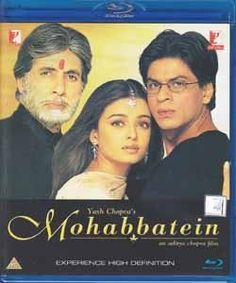 Love It Mohabbatein Blu Ray Disc