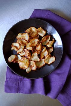 Caramelized Kohlrabi Chips ° eat in my kitchen