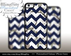 Monogram iPhone 5C 6 6 Plus Case White Snow Camo Navy Chevron iPhone 5s 4 case Ipod Real Tree Personalized Country Inspired Girl by BlingSity