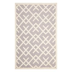 Tangier Dhurrie 6x9 Gray, $289, now featured on Fab.