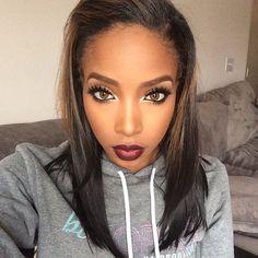 Her makeup:  fashionistaswonderland:  Kearia