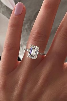 12 Engagement Ring Designers You Must See ❤️ engagement ring designers emerald cut diamond solitaire white gold ❤️ See more: http://www.weddingforward.com/engagement-ring-designers/ #weddingforward #wedding #bride #engagementrings