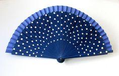 HandfächerhandfanAbanicoFächer in marine-blau  von pinkmagnolia2303