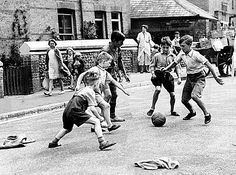 jumpers for goalposts go for it lads!