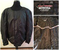 Mens Tourmaster Sonora 3/4 Air Jacket Motorcycle Riding Jacket Size 3XLT Lined #TOURMASTER #Motorcycle