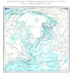 This site is full of free vintage printables Vintage nautical map; voyage of the Porcupine
