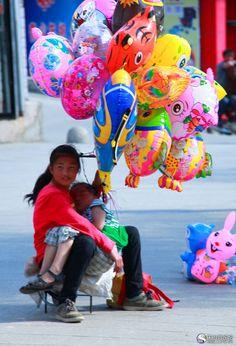 balloon seller.