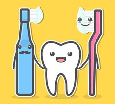 Both electric and manual toothbrushes are capable of cleaning teeth. Some people who struggle with one may see better results using the other type. We're okay with either as long as you're using it for 2 minutes twice a day! - Peckosh Pediatric Dentistry | #Dubuque | #IA | http://ift.tt/1JCMLzu