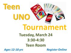 Join the Uno Tournament!