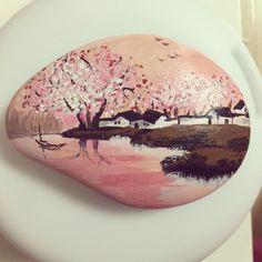 石头彩绘 Painting on a rock