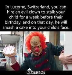 In Lucerne Switzerland...