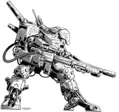 Rifts - Because sometimes you really need a robot with a BFG.