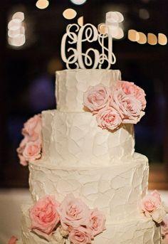 Wedding cake idea; Featured Photographer: Pinkerton Photography