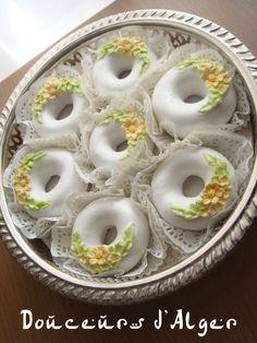 anneaux glacés aux amandes