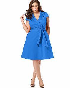 Blue, Evening/Formal Plus Size Dresses - Macy's