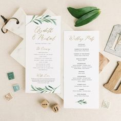 This listing is an INSTANT DOWNLOAD that includes a high resolution Wedding Program templates in both Word and Pages format for you to edit and print at home or your local copy shop. Save time and money by editing and printing your own wedding stationery! DOWNLOAD INCLUDES -------------------------------------------- 4 x 9 Program front............(2 per 8.5x11 page) 4 x 9 Program back............(2 per 8.5x11 page) Instruction Guide HOW IT WORKS…