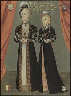 Swedish women from Gotland 1580.