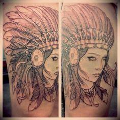 Tattoo in progress thightattoo