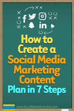 Planning your social media content delivery keeps your marketing on-message, making it more likely that youll reach your business goals.