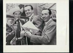 Ernest Tubb, Bill Anderson and Faron Young