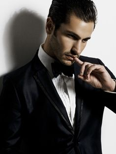 The black bow tie. An absolute must for every gentleman that wants to ring in 2014 in style.  Available at Express in Pacific Place. — via @Lee Reeves