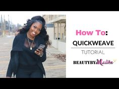 HOW TO : QUICK WEAVE HALF UP PONYTAIL | BEAUTYBYMALIKA - YouTube